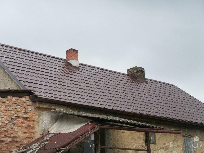 Rekonstrukce staré střechy: PICT3907