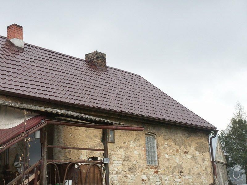 Rekonstrukce staré střechy: PICT3908