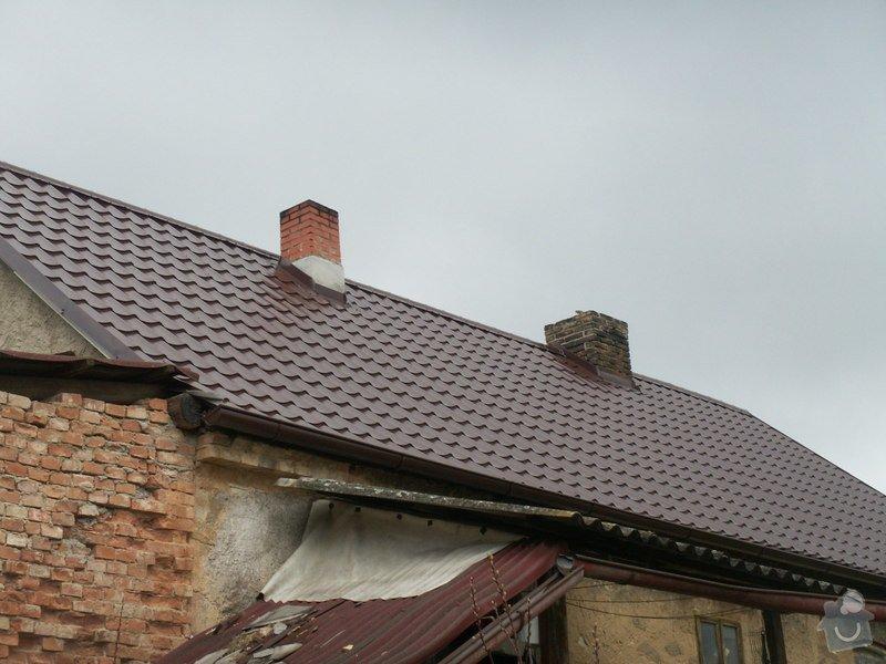 Rekonstrukce staré střechy: PICT3909