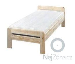 Dřevěná postel 200x90cm: 4049905513