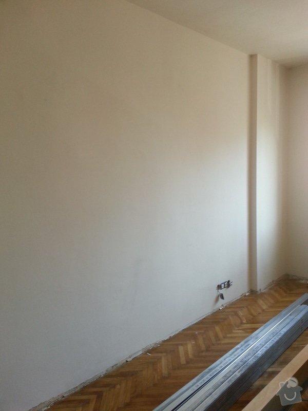 Odhlučnění stěny bytu, plocha stěny 16m2: 20140313_094545
