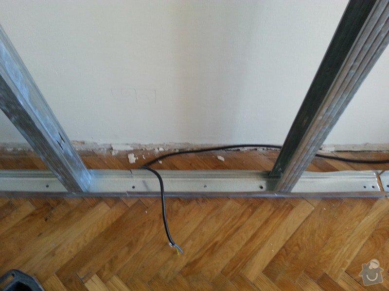 Odhlučnění stěny bytu, plocha stěny 16m2: 20140313_103410