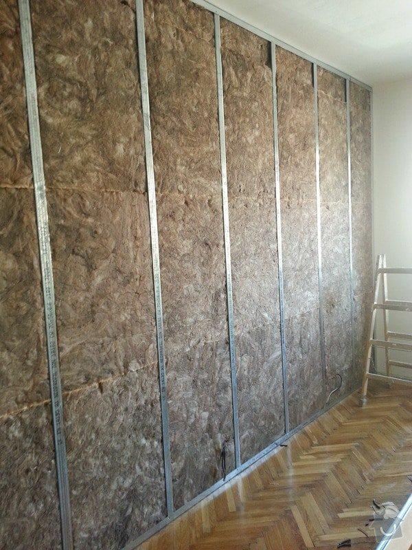 Odhlučnění stěny bytu, plocha stěny 16m2: 20140313_105145