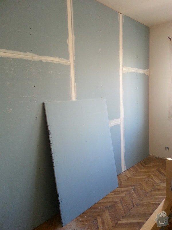 Odhlučnění stěny bytu, plocha stěny 16m2: 20140313_113039