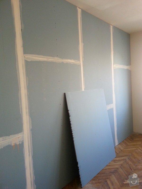 Odhlučnění stěny bytu, plocha stěny 16m2: 20140313_113043