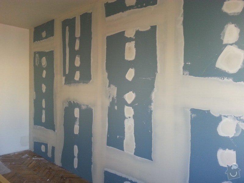Odhlučnění stěny bytu, plocha stěny 16m2: 20140313_140946