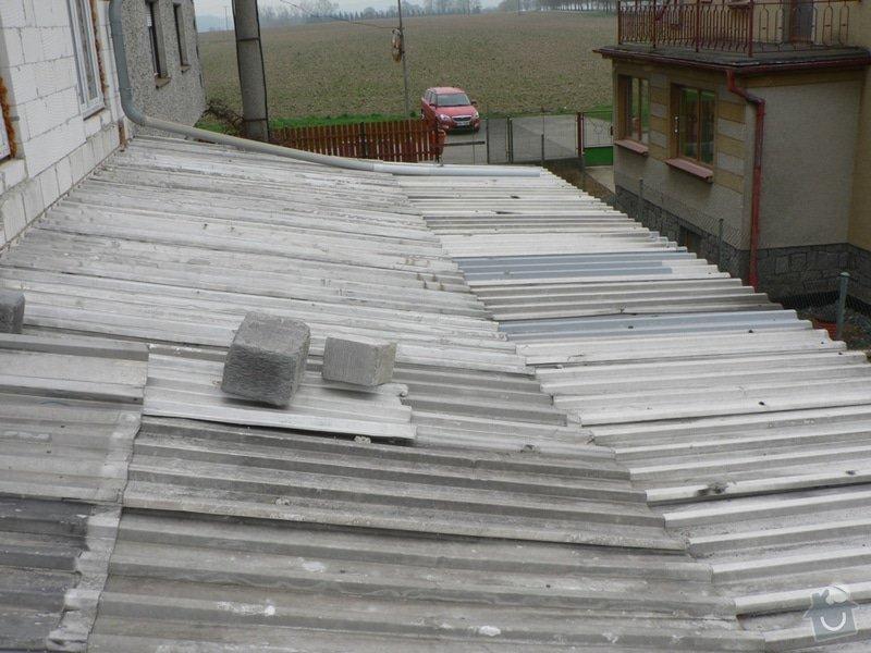 Výměna střešní krytiny, klempířské práce: P1130164