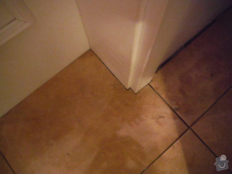 Tekoucí odpad sprchového koutu: DSCF0620
