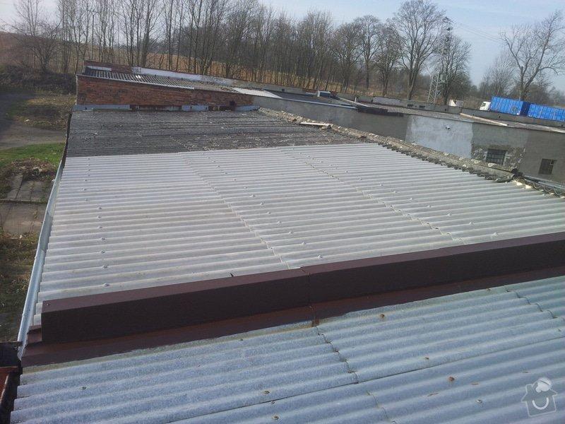 Oprava střechy garáže: 20140328_083204