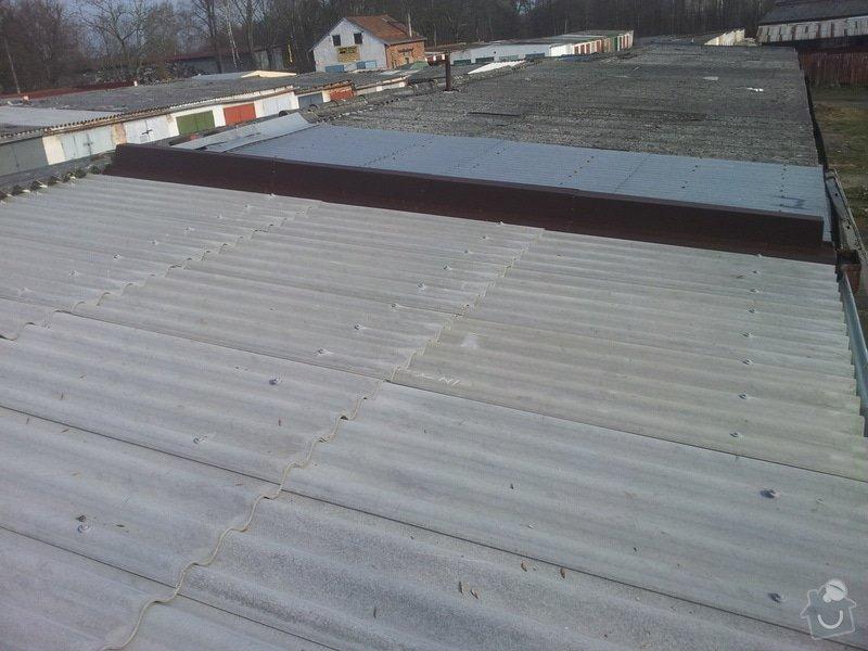 Oprava střechy garáže: 20140328_083222