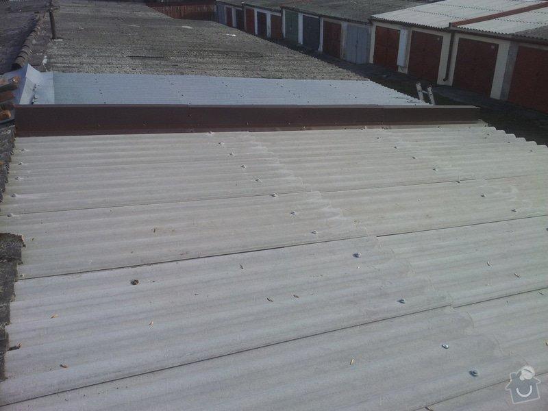 Oprava střechy garáže: 20140328_083234