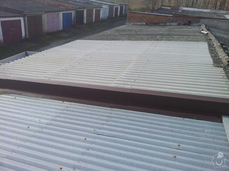 Oprava střechy garáže: 20140328_083252