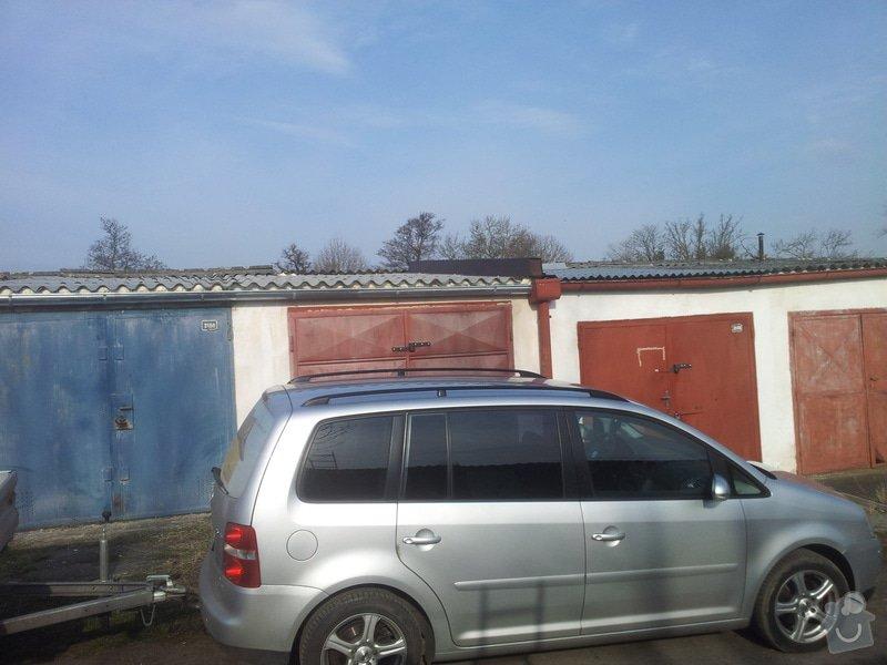 Oprava střechy garáže: 20140328_083407