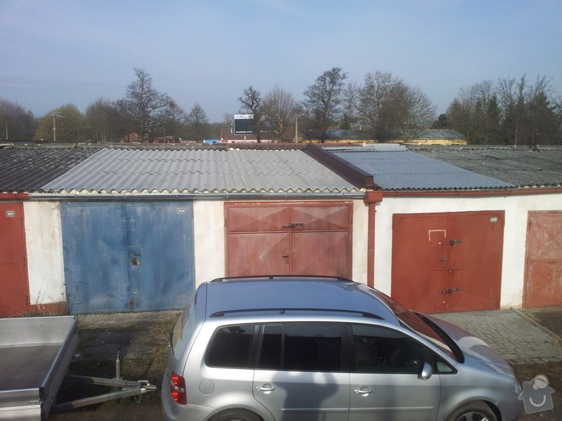 Oprava střechy garáže: 20140328_083424