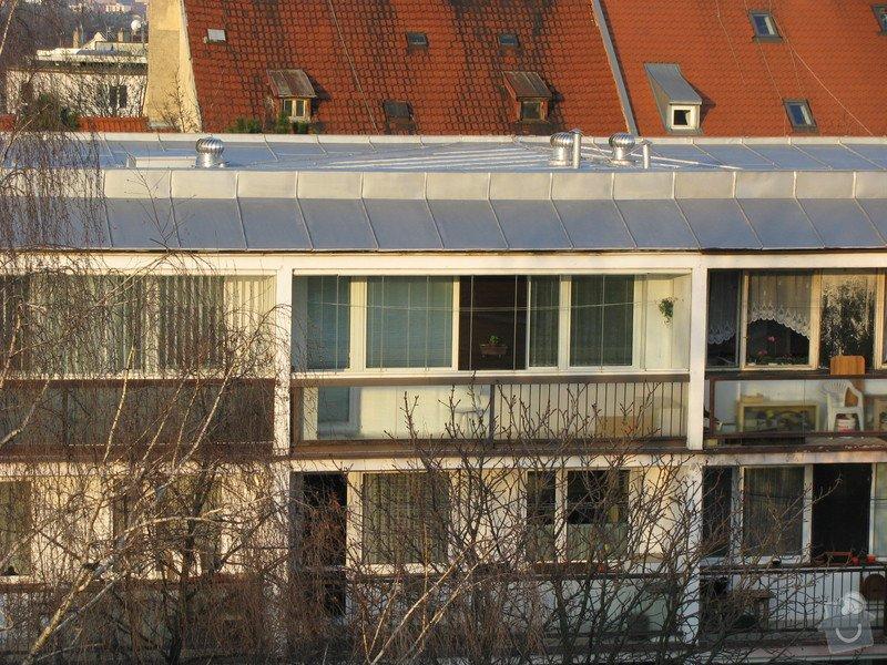 Zateplení střechy panelové domu: IMG_2786