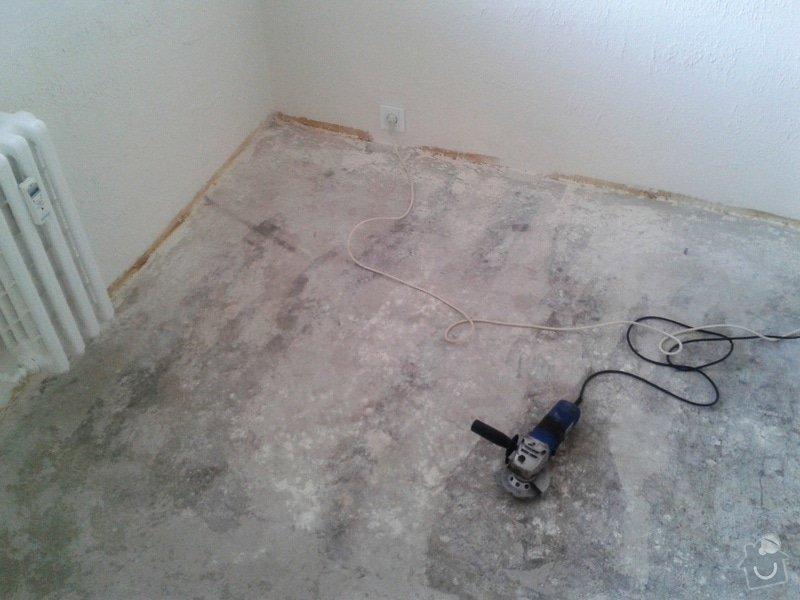 Pokládka laminátové plovoucí podlahy : 20140403_154341