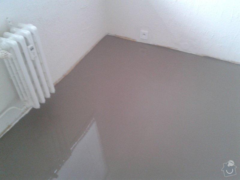 Pokládka laminátové plovoucí podlahy : 20140403_173157