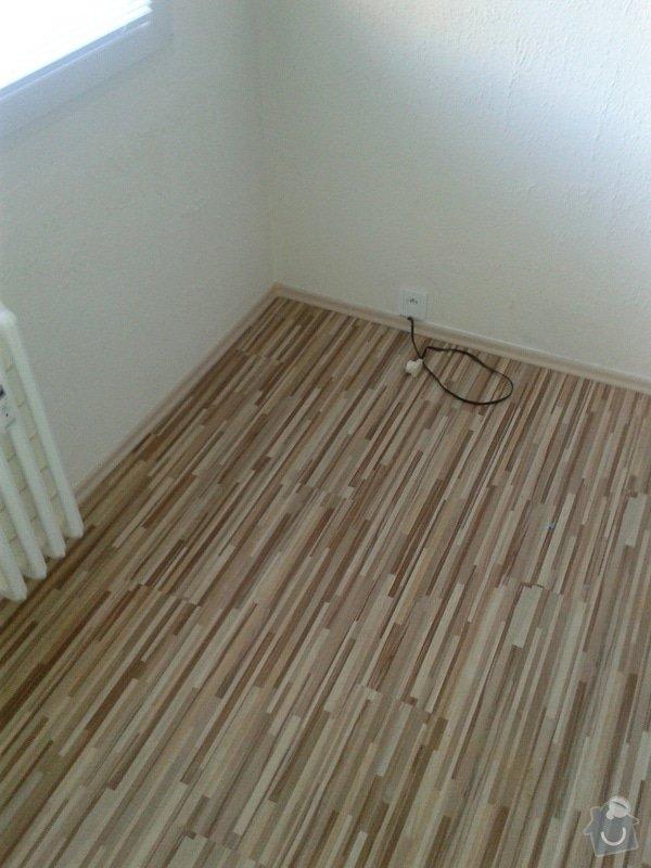 Pokládka laminátové plovoucí podlahy : 20140407_174320