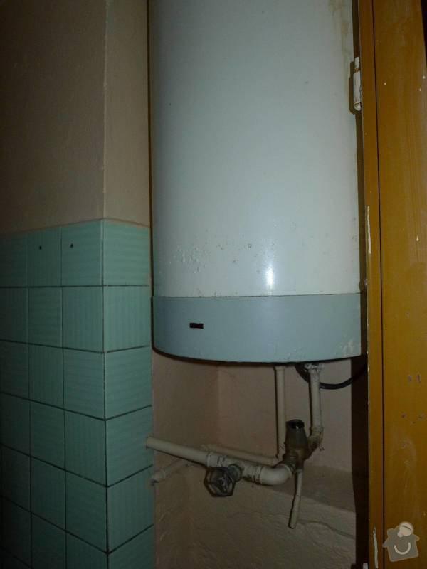 Připojení kanalizace: P1070275
