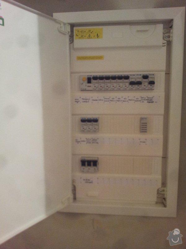 Kompletní elektroinstalace bytu : pagacovi