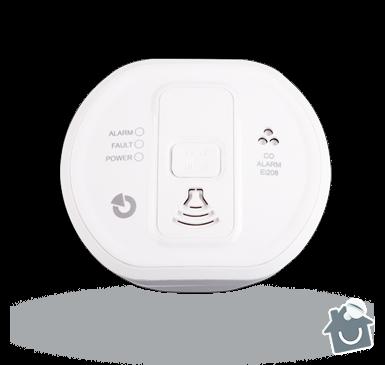 Instalace detektoru CO v bytovém domě: EI208W