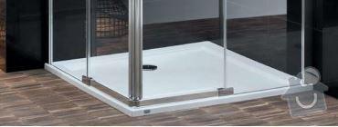 Realizace kouleny v novostavbě RD v Tlučné: sprchac