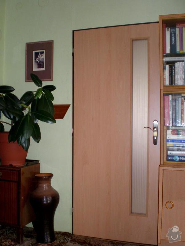 Dodávka a montáž vnitřních dveří-Hořovice: realizace