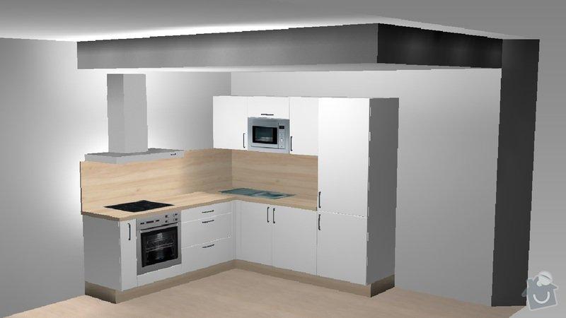 Hledám výrobce kuchyně-Praha, kvalitně, za příznivou cenu: kuchyn_varianta_1