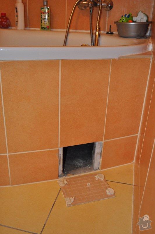 Kontrolní dvířka k vaně: DSC_0004