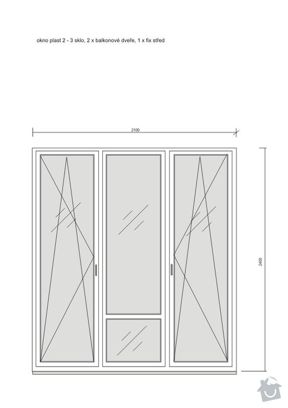 Poptávka: dodavatel oken, plastová nebo Eurookna, Praha 10 : okno_01
