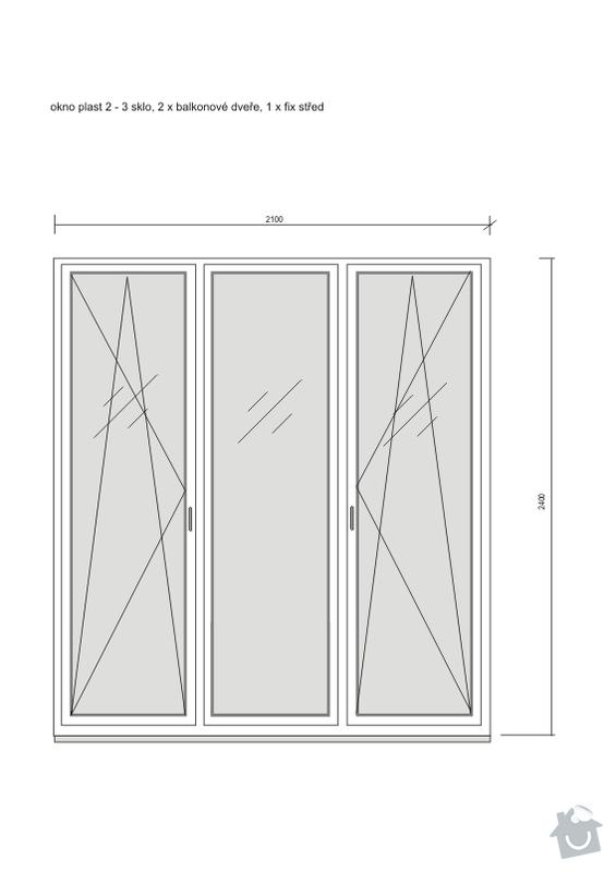 Poptávka: dodavatel oken, plastová nebo Eurookna, Praha 10 : okno_02