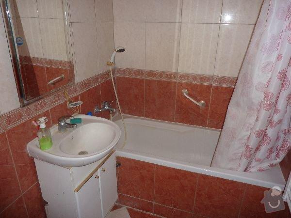 Rekonstrukce koupelny a WC: 12059-13-14