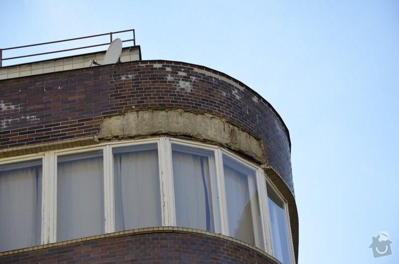 Oprava fasády BD ve výšce: _DSC0077