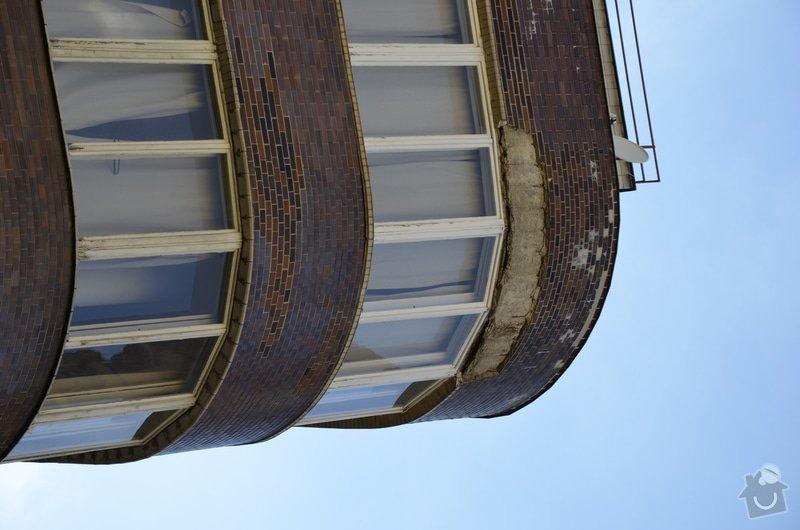 Oprava fasády BD ve výšce: _DSC0083
