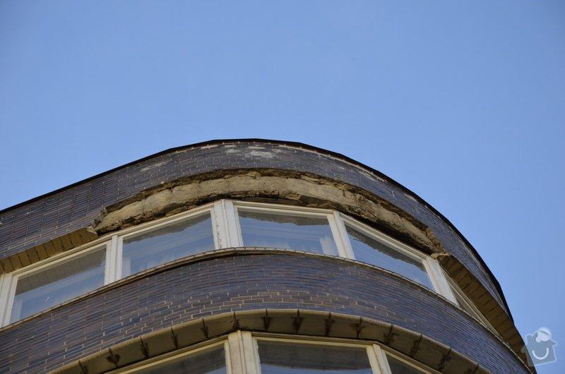 Oprava fasády BD ve výšce: _DSC0086