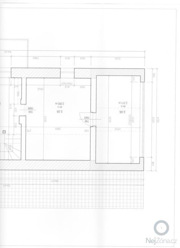 Návrh a realizace interiéru podkrovního bytu včetně drobných stavebních úprav: stavajici_stav_001