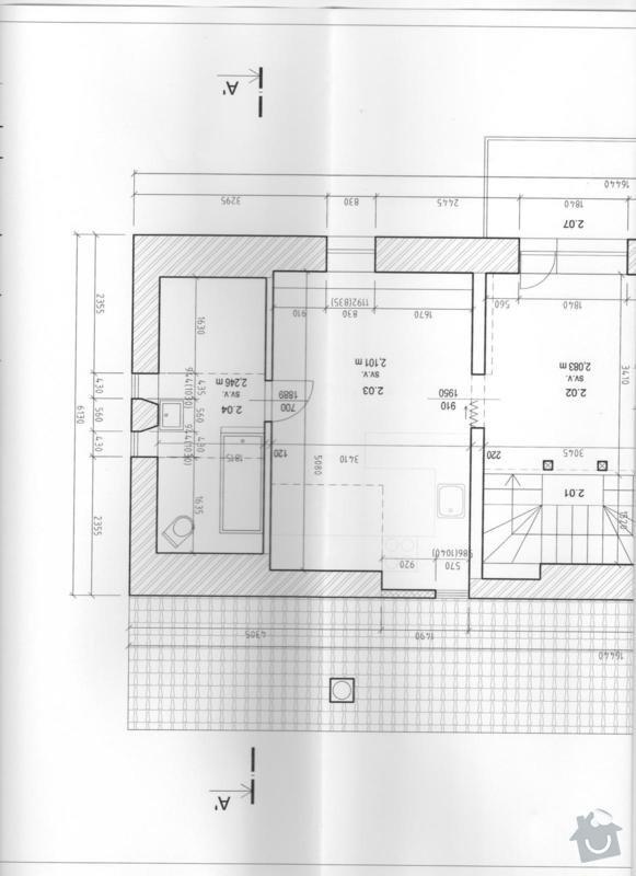Návrh a realizace interiéru podkrovního bytu včetně drobných stavebních úprav: stavajici_stav_002