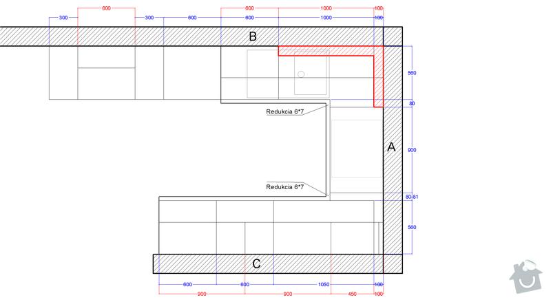 Príprava elektroinštalácie pre montáž kuchyne: pod