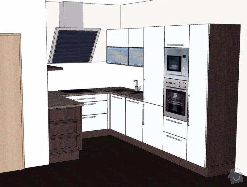 Příprava rozvodů kuchyňské linky: Novotny-vizualizace
