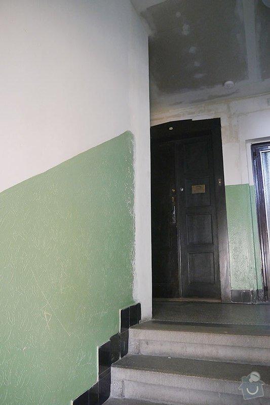 Výmalba společných prostor činžovního domu: P1140569