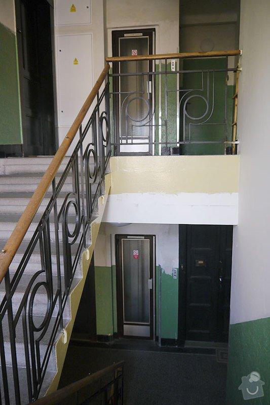 Výmalba společných prostor činžovního domu: P1140567