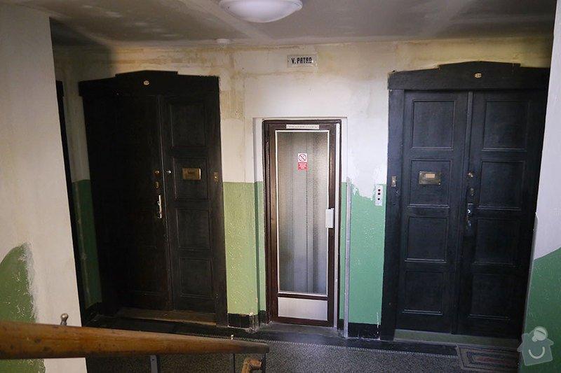 Výmalba společných prostor činžovního domu: P1140566