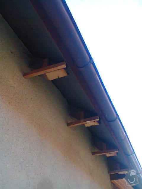 Podbití přesahu střechy: Fotografie1421