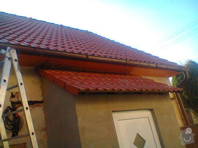 Podbití přesahu střechy: Fotografie1432