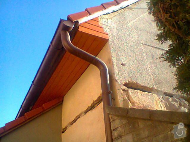 Podbití přesahu střechy: Fotografie1434
