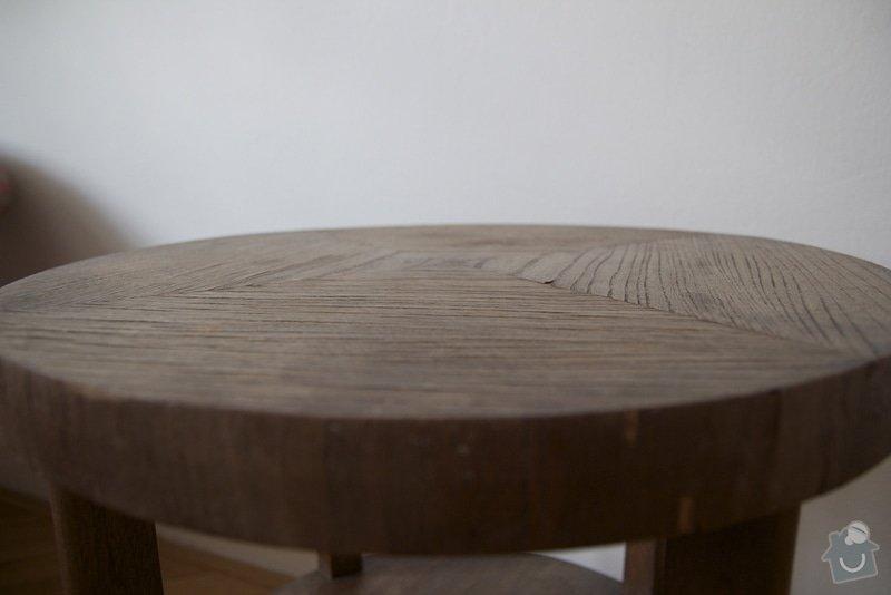 Restaurovani starsiho dreveneho konferencniho stolku: IMG_6737
