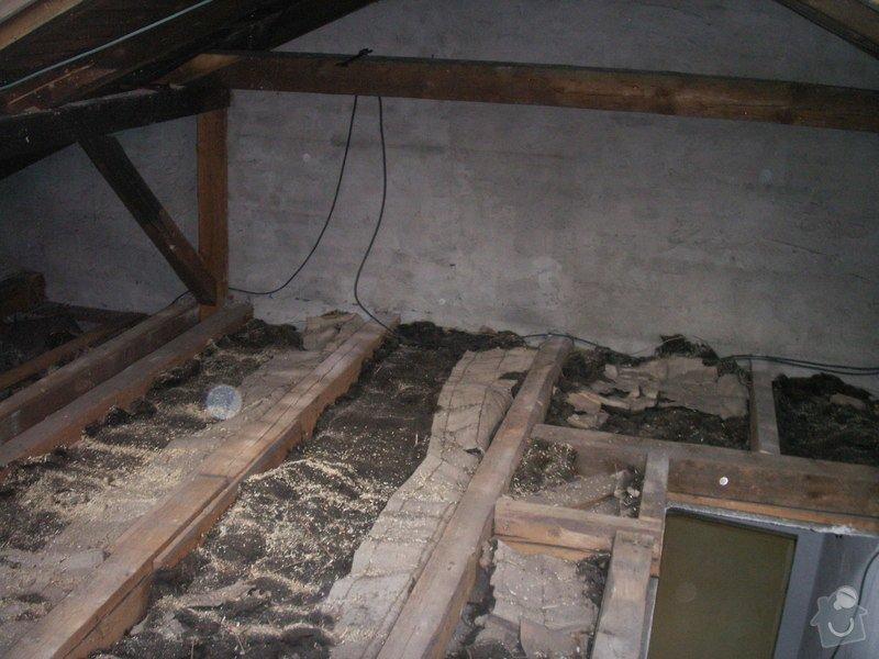 Kompletní rekonstrukce podkroví: PICT0992