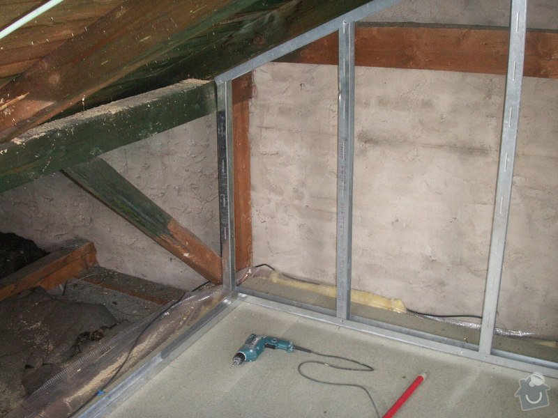 Kompletní rekonstrukce podkroví: PICT1011