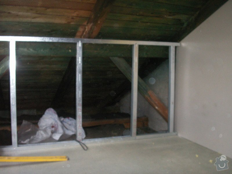 Kompletní rekonstrukce podkroví: PICT1015