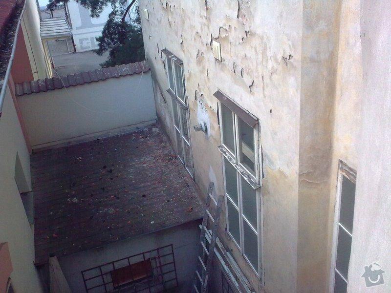 Oprava fasády bytového domu : Obraz0235